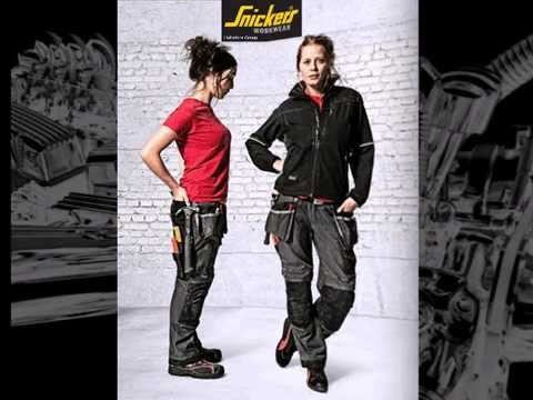 Construction work clothes for women