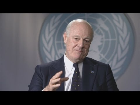 UN envoy insists Syria peace talks have momentum