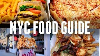 NYC FOOD GUIDE: THE BEST PLACES TO EAT IN NEW YORK | INSTA FOOD