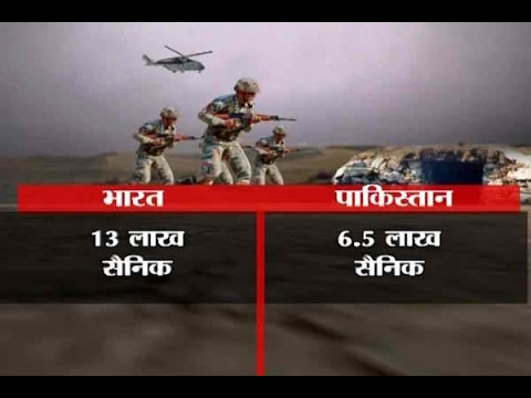 In Graphics: Comparison between Indian and Pakistan Army