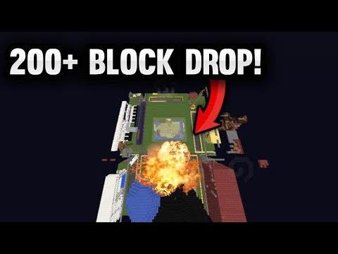 INSANE 200+ BLOCK TNT MINECART DROP IN FRONT OF MY BASE! | Minecraft Factions