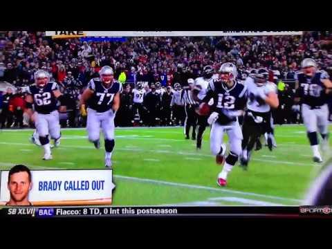 Brady slide Ed Reed