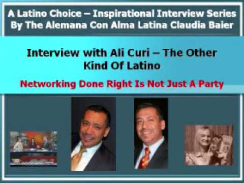 Networking Done Right Is Not Just A Party - Latin Community