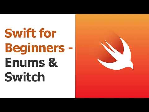 Swift for Beginners Part 10 - Enums & Switch Statements thumbnail
