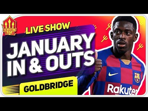 Solskjaer's January Transfer INS & OUTS! Man Utd News