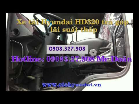 Ban xe tai Hyundai HD320 19 tan, Hyundai 19 tn nhp khu
