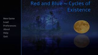 Red and Blue ~ Cycles of Existence PC Full Walkthrough/PC game reviews