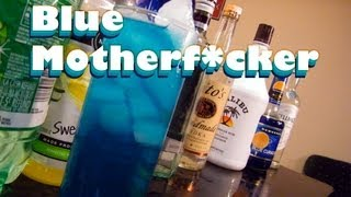 Blue Motherf*cker Drink Recipe - TheFNDC.com