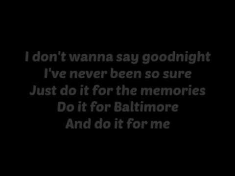 All Time Low - For Baltimore (Acoustic) w./Lyrics