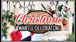 Christmas Mantle Decorating Ideas | Christmas Decor 2019