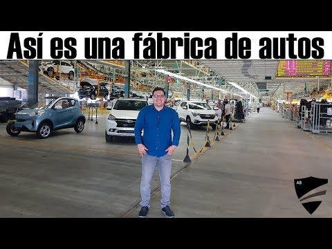 Así es un Fábrica de vehículos/// CAOA Chery