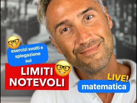 LIMITI NOTEVOLI, Limiti Matematica, Limiti Notevoli Esercizi, Limiti Notevoli Dimostrazione