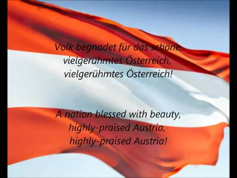 "Austrian National Anthem - ""Bundeshymne"" (DE/EN)"
