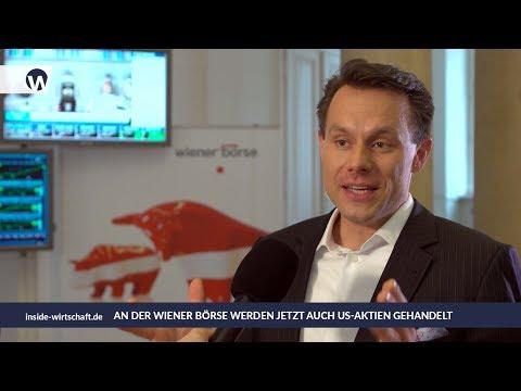 Wiener Börse: Marktstart für US-Aktien - CEO Christoph Boschan im Interview