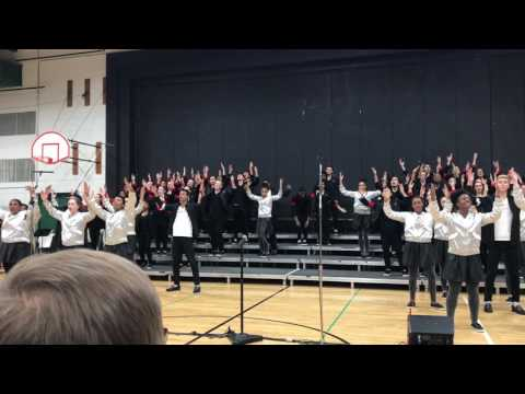 Chicago Children's Choir Michael Jackson medley Oak Lawn Community High School 5/12/17