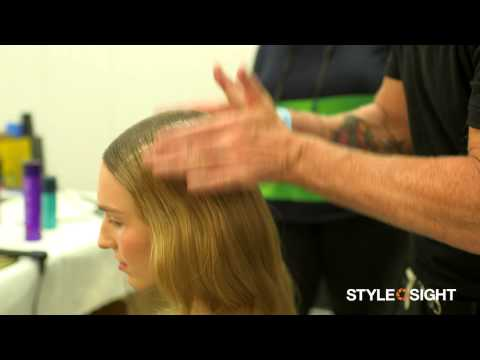 New York Fashion Week Spring 2014: Backstage Hair With Odile Gilbert