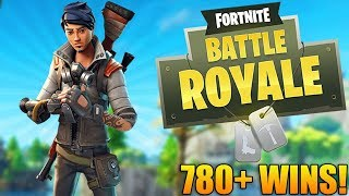 GOING FOR MLG PLAYS! - 780+ Wins - Level 95+ - Fortnite Battle Royale Gameplay
