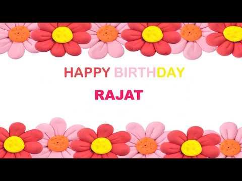 Rajat   Birthday Postcards & Postales - Happy Birthday