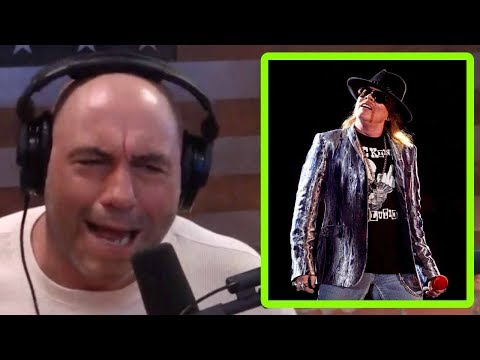 Joe Rogan: I'd Have Axl Rose on the Podcast