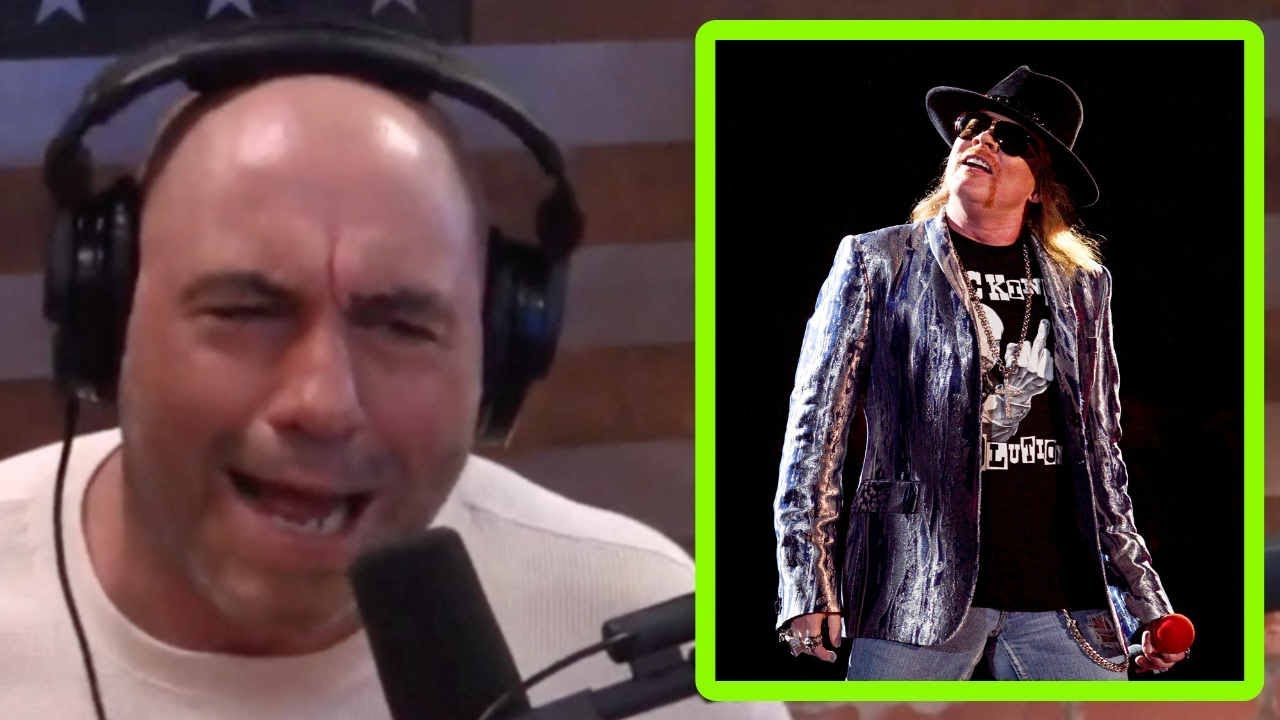322eae7ee43 Joe Rogan  I d Have Axl Rose on the Podcast - YouTube