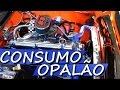 TESTE CONSUMO OPALA 6 CILINDROS CARBURADOR H34 GASOLINA