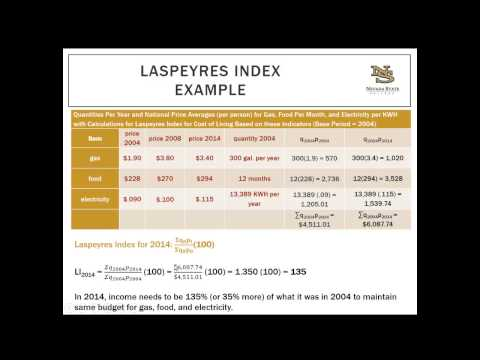 Time Series Data and Index Numbers Lecture