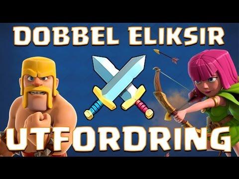 DOBBEL ELIKSIR UTFORDRING! :: Clash Royale :: Norsk Mobilspill