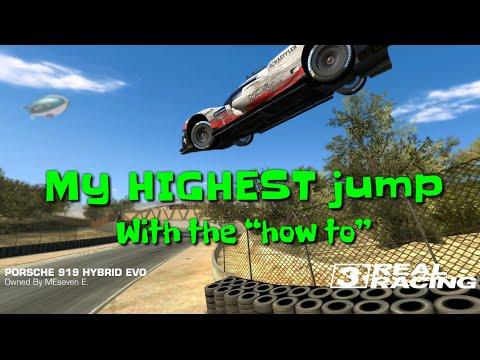 Biggest Jump In Real Racing 3