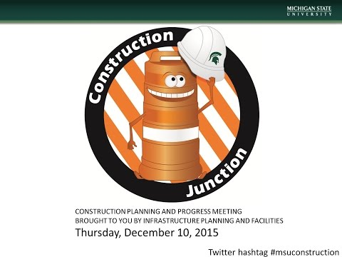 December 2015 Construction Junction Presentation