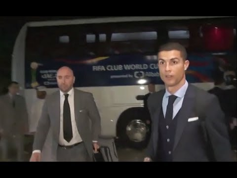 Girls Crazy Reaction for Cristiano Ronaldo in Abu Dhabi hotel | CR7