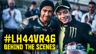LH44xVR46: Behind the scenes of the ultimate rideswap