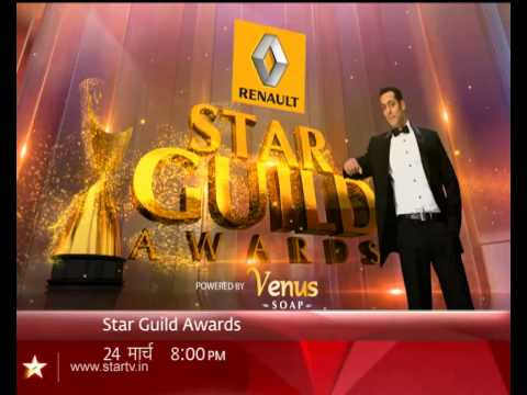 Lata Mangeshkar sings on the stage of STAR Guild Awards