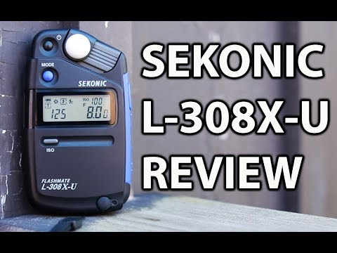 The Sekonic L308X-U is a Portable Powerful Light Meter!