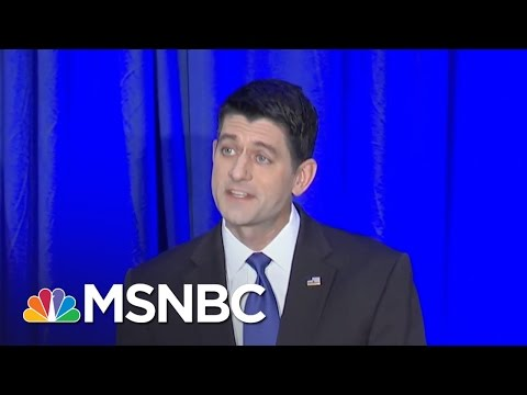Paul Ryan: 'We Won On Donald Trump's Coattails' | MSNBC