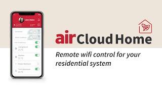 Hitachi airCloud Home - Wi-Fi Control
