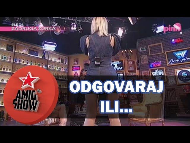Odgovaraj ili... - Kija Kockar i Milica Pavlović - Ami G Show S11 - E19