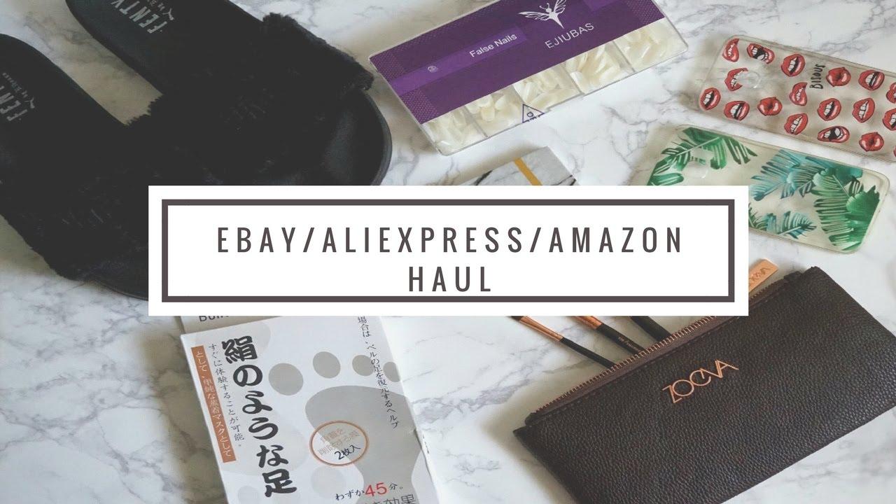 überlegene Materialien unverwechselbarer Stil Genieße am niedrigsten Preis Ebay & Aliexpress Haul | Puma Fenty Rih Slides, Zoeva brushes,