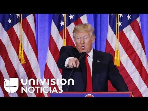 """Donald Trump asegura que México """"reembolsará"""" el costo del muro fronterizo"""