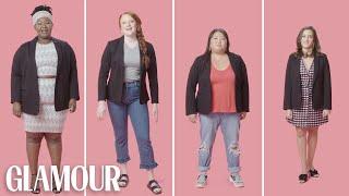 Women Sizes 0 Through 28 Try On the Same Blazer | Glamour