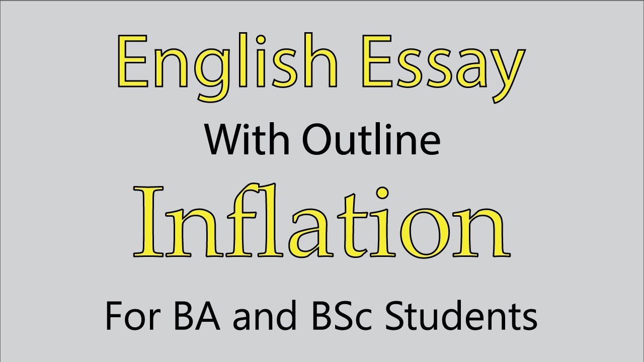 ≡Essays on Inflation. Free Examples of Research Paper Topics, Titles GradesFixer