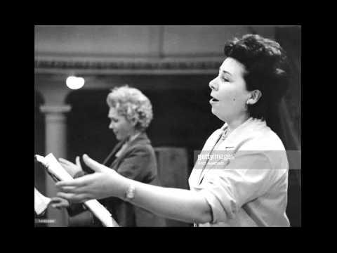 E. Schwarzkopf & C. Ludwig - So ist mein Jesus nun gefangen - Bach 432 Hz