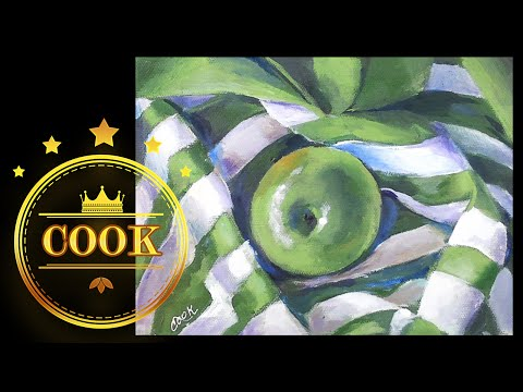 How to Paint Fabric with Folds and Srtipes , A Cookie Crumb Lesson with Ginger Cook