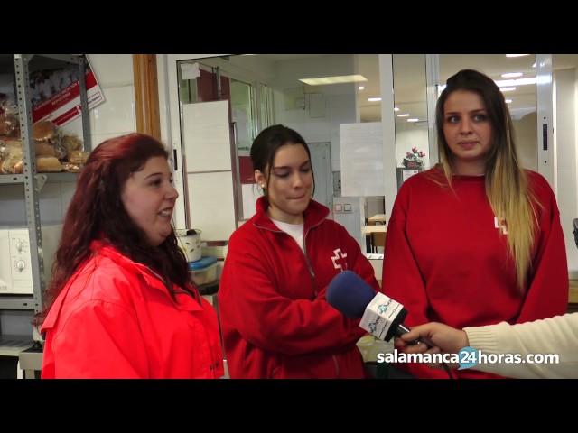 Voluntarias del UMAS explican su labor en Cruz Roja