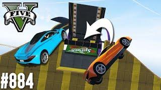IN KLEINES LOCH SPRINGEN! (+DOWNLOAD)   GTA 5 - CUSTOM MAP RENNEN