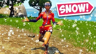 IT'S SNOWING IN FORTNITE! - Fortnite Funny Fails and WTF Moments! #401