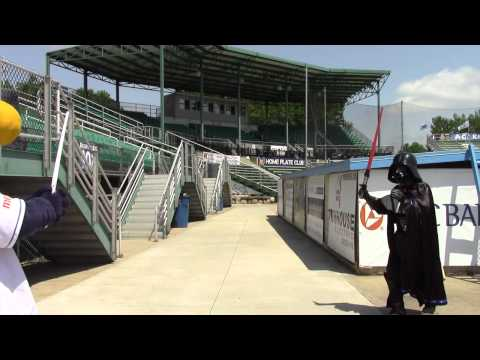 Consumers Credit Union's Star Wars Night at Homer Stryker Field