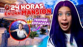 24 HORAS en una MANSIÓN ft MUNDO DE CAMILA  | Leyla Star 💫