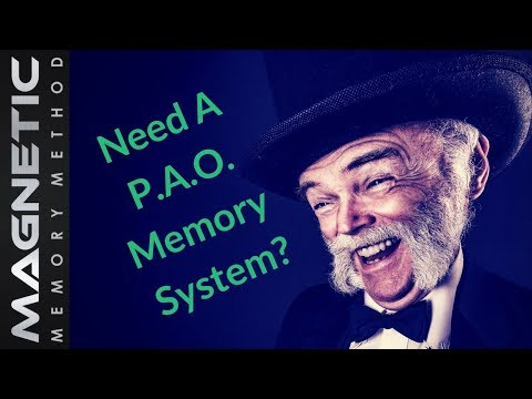 🚪PAO Problems And Memory Palace Questions Only You Can Answer