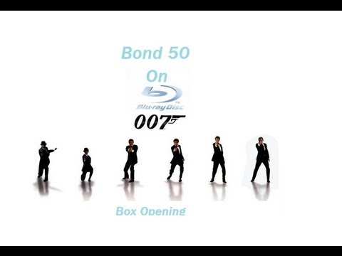 Bond 50 Blu Ray Open
