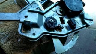 БМВ Е34 Замена заднего ручного стеклоподъемника на электрический ремонт ч.4  BMW E34